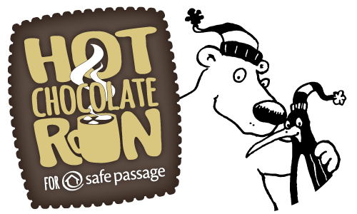 Hot Chocolate Run for Safe Passage logo